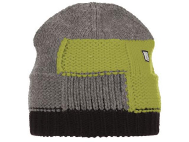 E9 Squarhead Wełniana czapka, apple-grey